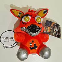 Мягкая игрушка Пять ночей с Фредди аниматроник - Фокси Foxy  18см