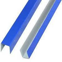 Планка П-образная 19x12x19мм, L=2000мм RAL 5002, (синий)