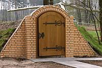 Кованые двери для погребов