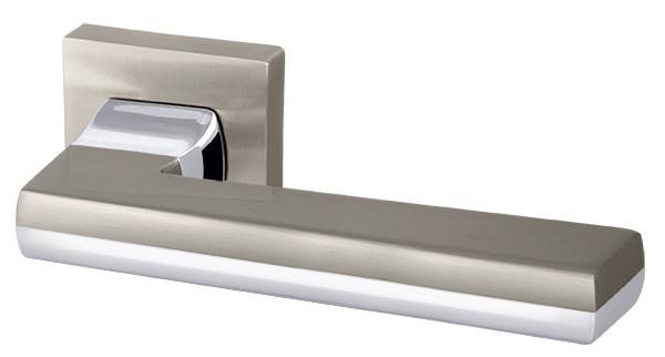 Ручки дверні Armadillo GROOVE URB3 матовий нікель/хром
