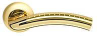 Ручки для дверей Armadillo Libra матове золото/золото