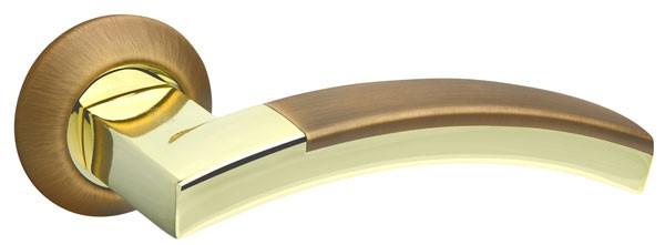 Ручки дверні Fuaro ACCORD бронза/золото