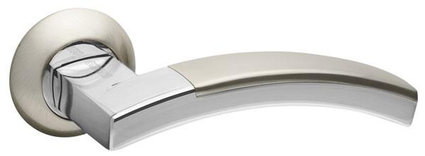 Ручки дверні Fuaro ACCORD матовий нікель/хром