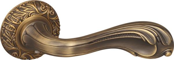 Ручки дверні Fuaro BAROCCO матова бронза