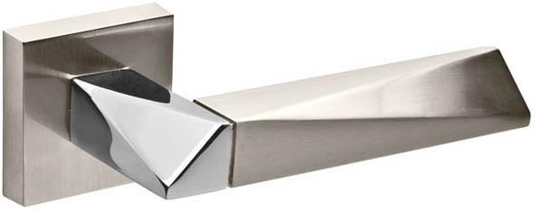 Ручки дверні Fuaro DIAMOND матовий нікель/хром