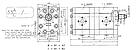 Шестеренчатый (шестерной) гидравлический насос Hydro-pack H 30A/C55X242 (серия 30 + серия 30), фото 2