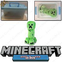 "Детеныш Крипер из Minecraft - ""Creeper Baby"" - в пластиковом боксе, фото 1"