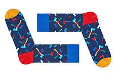 """Темно-синие мужские носки """"Лесоруб"""" от Friendly Socks, фото 2"""