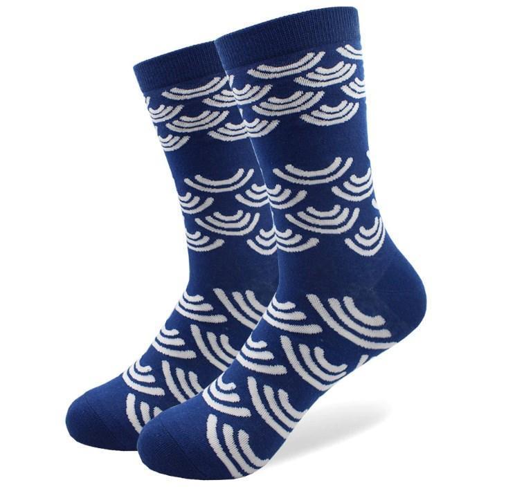 Стильные темно-синие носки от Friendly Socks