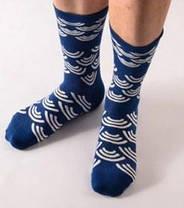 Стильные темно-синие носки от Friendly Socks, фото 2