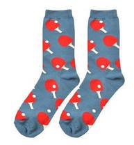 Стильные носки темного-синего цвета с теннисными ракетками  Friendly Socks, фото 2