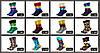 Стильные носки темного-синего цвета с теннисными ракетками  Friendly Socks, фото 3