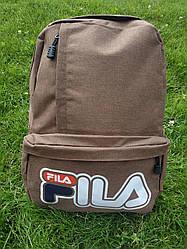 Cпортивный рюкзак FILA. Коричневый