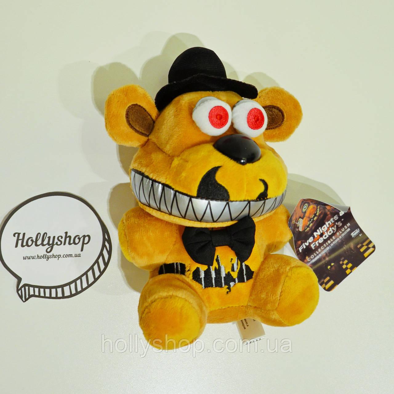 Мягкая игрушка Пять ночей с Фредди аниматроник Фредди Фазбер Freddy  18см