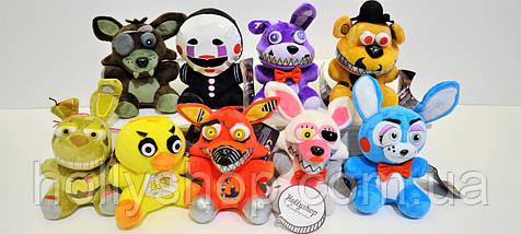 Мягкая игрушка Пять ночей с Фредди аниматроник Фредди Фазбер Freddy  18см, фото 2