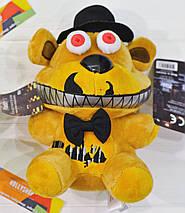 Мягкая игрушка Пять ночей с Фредди аниматроник Фредди Фазбер Freddy  18см, фото 3