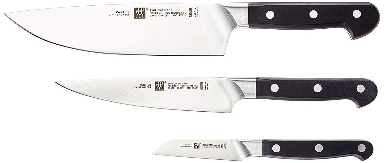 Набор ножей Zwilling Pro 3 предмета 38447-003