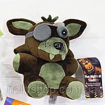 Мягкая игрушка Пять ночей с Фредди аниматроник Фантом Фокси 18см, фото 3
