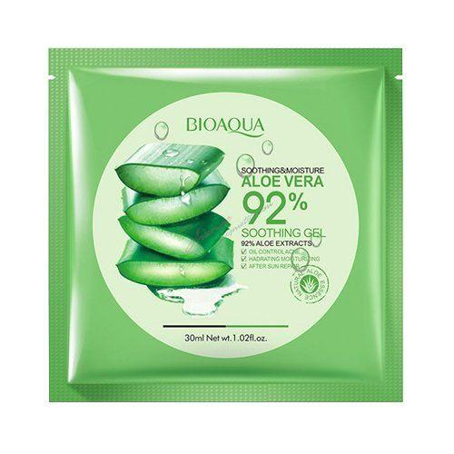Маска для лица BioAqua Aloe Vera Soothing Gel 92%