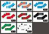 Набор Носков HUF-5 пар - В Стильной Коробке - КОРОТКИЕ, низкие с листом конопли (Набір шкарпеток, фото 4