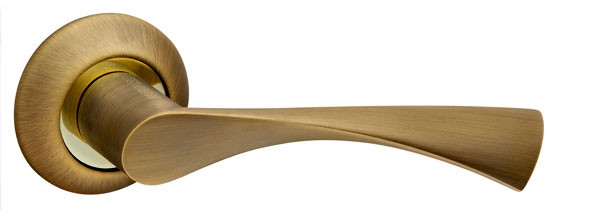 Ручки дверні Fuaro PRIMA бронза/золото