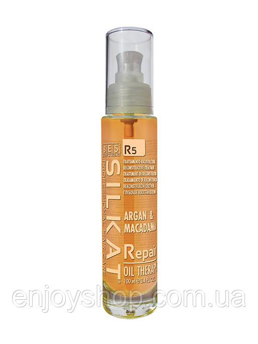 Восстанавливающее масло (мульти функциональное масло)   R5 SILKAT REPAIR 100мл
