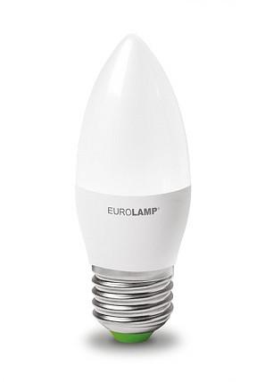 """LED Лампа свеча Eurolamp ЕCО серия """"P"""" 6W E27 4000K"""