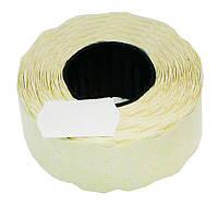 Этикет-лента 26 х 12 белая, волна