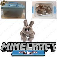 """Игрушка Пещерный кролик из Minecraft - """"Cave Rabbit"""" - в пластиковом боксе!"""