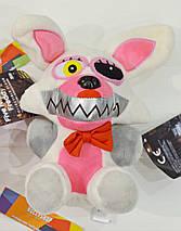 Мягкая игрушка Пять ночей с Фредди аниматроник Mangle Мангл 18см, фото 3