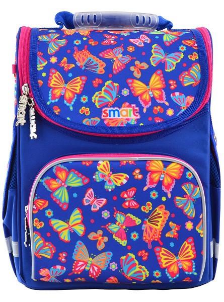555908 Яркий каркасный рюкзак Smart PG-11 Butterfly dance 26*34*14