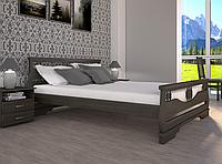 Кровать двуспальная ТИС Атлант 3 дуб лак