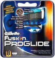 Лезвия оригинал Gillette fusion ProGlide 8 картриджей