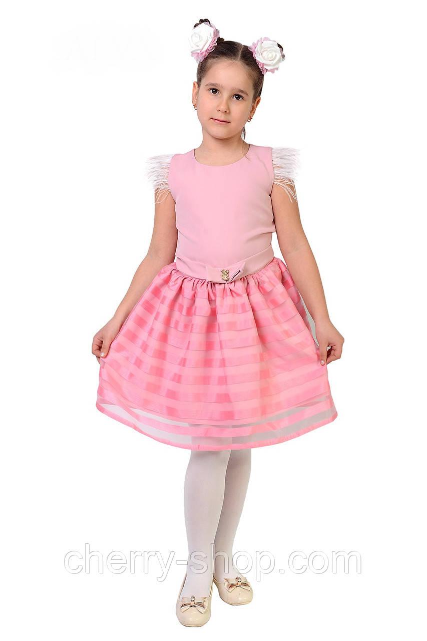 Нежное розовое платье для маленькой принцессы
