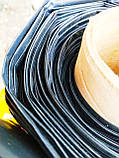 Пленка черная 180 мкм. 6м. ширина (для мульчирования, для хризантем), фото 3