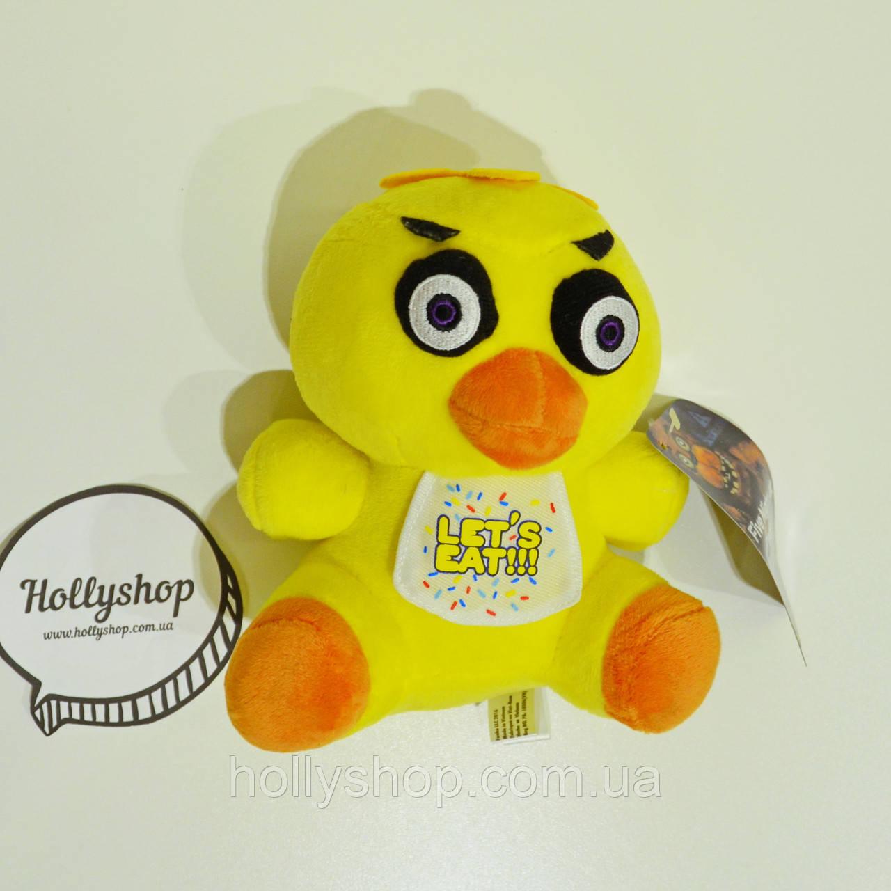 Мягкая игрушка Пять ночей с Фредди аниматроник - Chica Чика 18см