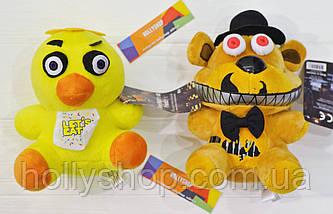 Мягкая игрушка Пять ночей с Фредди аниматроник - Chica Чика 18см, фото 2
