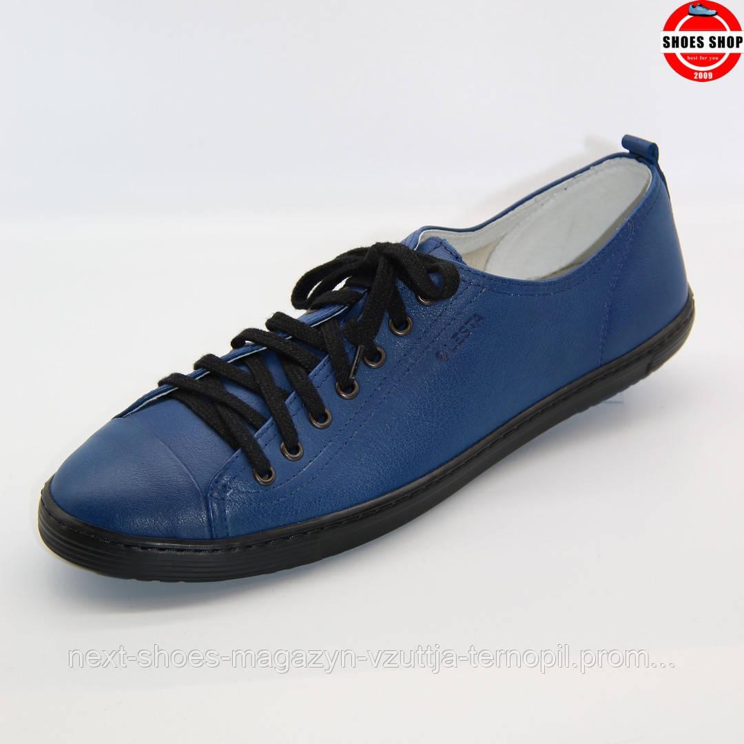 Чоловічі кеди Lesta (Польща) синього кольору. Зручні та модні. Стиль - Шевченко Андрій
