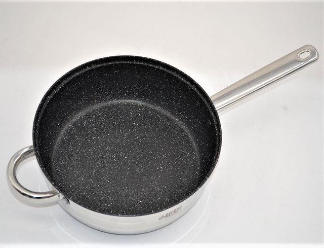 Набор кастрюль из нержавеющей стали 12 предметовBenson BN-208(2,1 л, 2,1 л, 2,9 л, 3,9 л, 6,5 л)