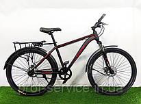 Велосипед Топ райдер 700 (черно-красный)