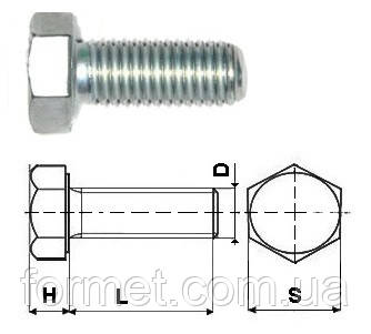 Болт М8* 30 мм (уп.100шт.), фото 2