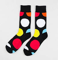 Мужские носки в большой  горох Friendly Socks, фото 3