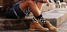 Черные мужские носки в горох Friendly Socks, фото 3
