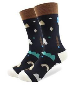 Стильные черные мужские носки от Friendly Socks