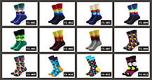 Бирюзовые носки со смайлами от Friendly Socks, фото 2