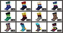 Синие носки с разноцветными перьями от Friendly Socks, фото 3
