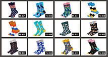 """Синие мужские носки """"Яичница"""" от Friendly Socks, фото 2"""