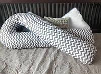 Подушка для беременных U Образная. Подушка для кормления. Большая!