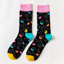 """Черные мужские носки """"Разбитое яйцо"""" от Friendly Socks, фото 3"""