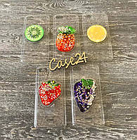 TPU чехол Crystal Fruits для Xiaomi Redmi 6a (5 видов)